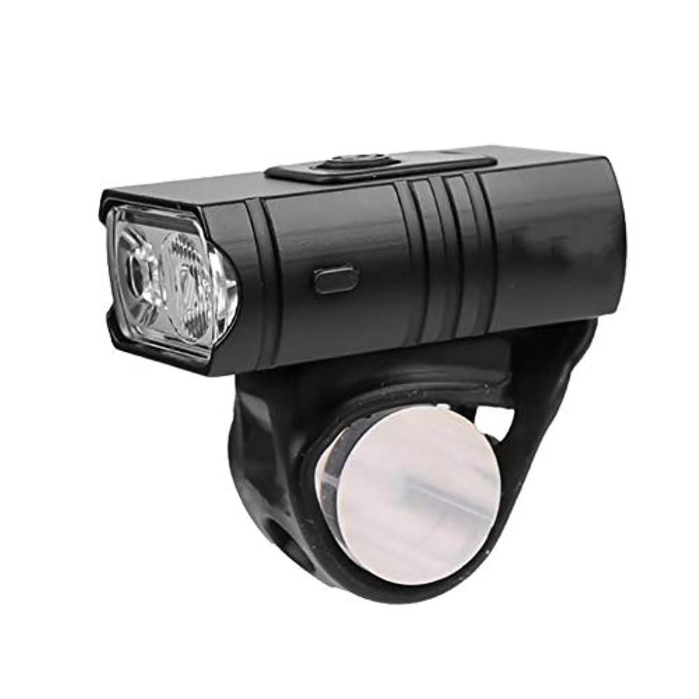 リルとして含意屋外のナイトサイクリングライト、狩猟、サイクリング、登山、キャンプや野外活動のための適切なUSB充電式LED照明防水懐中電灯、自転車ヘッドライト