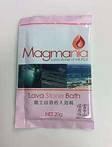 【Amazon限定】Magmania(マグマニア) Lava Stone Bath 富士山溶岩入浴剤 (20g×5包)