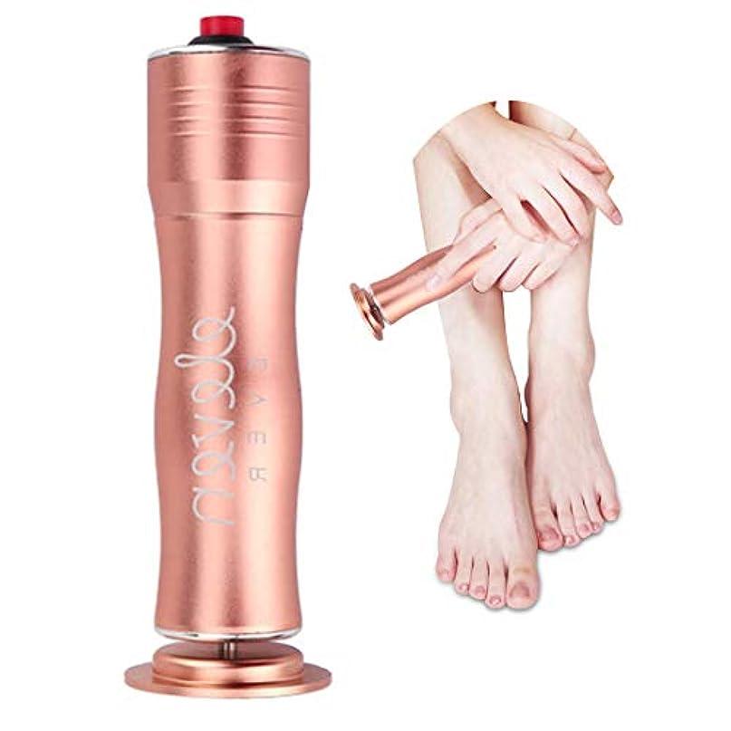 天気消化モート電動角質リムーバー 角質取り スピーディに足の角質を除去可能 速度調節可能 清潔的 衛生的な足部ケア道具 磨足器 ペディキュアマシン 使い捨てのサンドペーパー付き 男女兼用