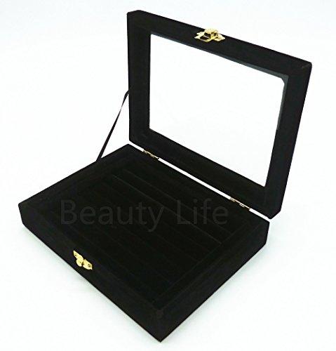 ビューティーライフ【Beauty Life®】ジュエリーケース ベルベット調 アクセサリー 指輪 ディスプレイ