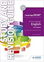 Cambridge IGCSE First Language English Study & Revision Guide 3rd Edition