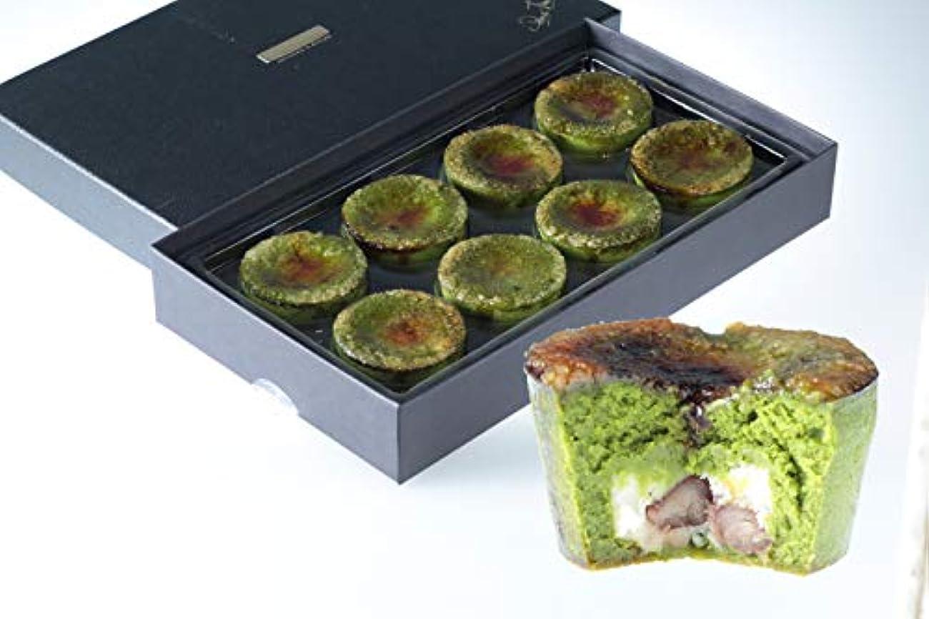 弾丸咲く公平ルワンジュ東京 パリトロ抹茶 抹茶のチーズケーキ 8個入り