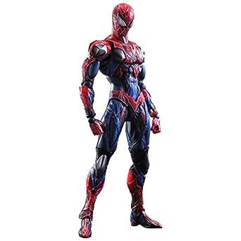 MARVEL UNIVERSE VARIANT PLAY ARTS改 スパイダーマン PVC製 塗装済み可動フィギュア