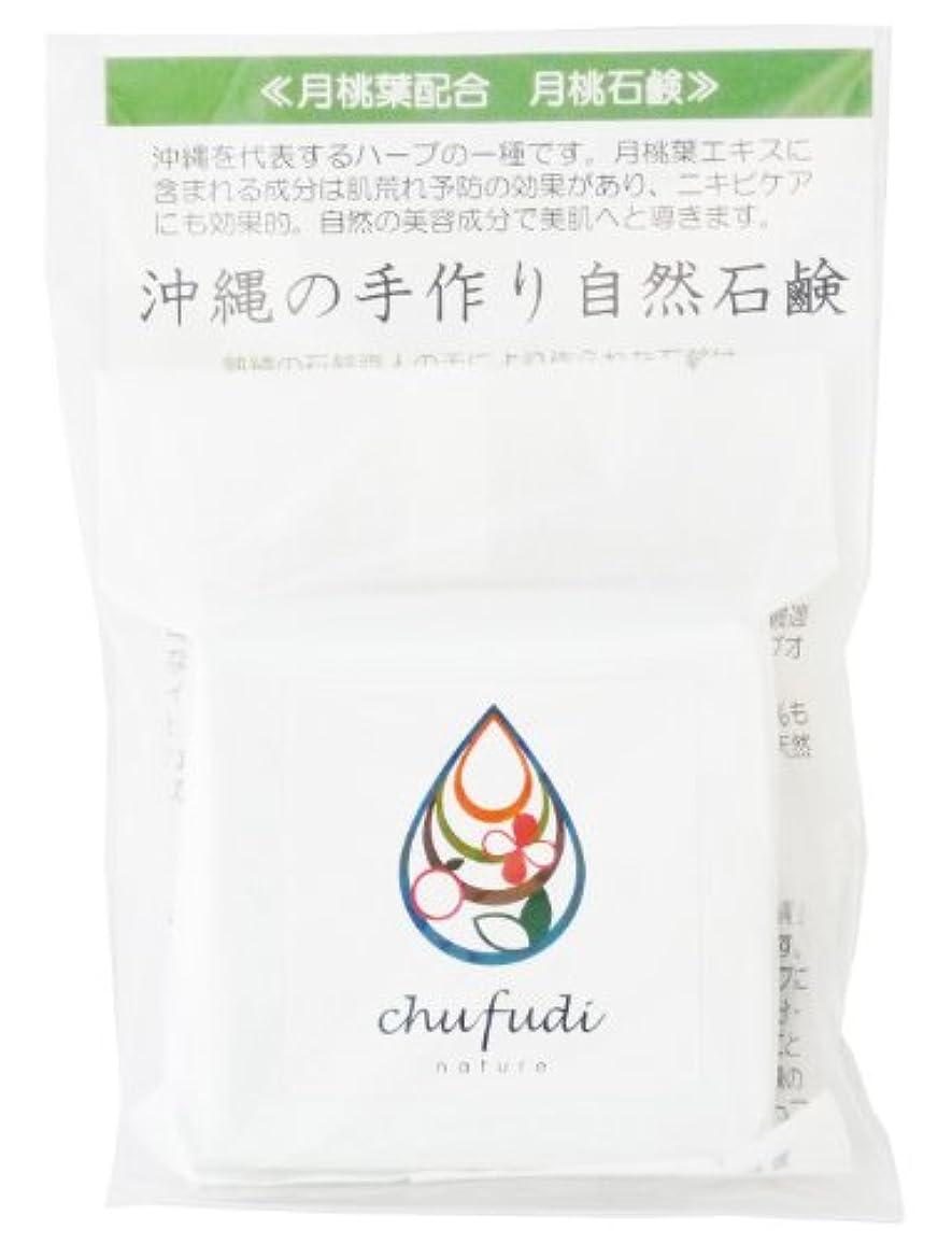 没頭する乗算食事チュフディ ナチュール 沖縄ハーブ 月桃石鹸
