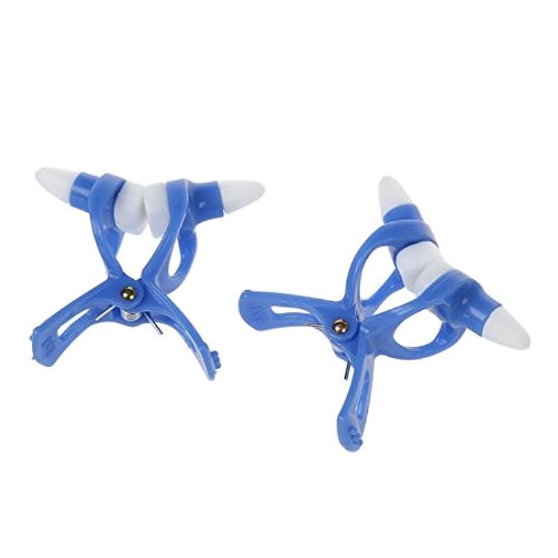 減衰ランク等ACAMPTAR ACAMPTAR(R)2個美容ツールハイノーズアップメーカー鼻クリップブルーシリコンパッド