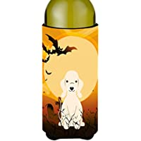 Carolines Treasures BB4357LITERK Halloween Bedlington Terrier Sandy Wine Bottle Beverge Insulator Hugger