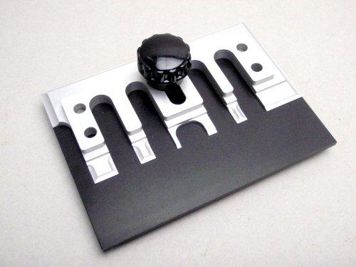エッチングベンダー 曲げ治具 プラモデル エッチングパーツの曲げ加工に便利 100×75_