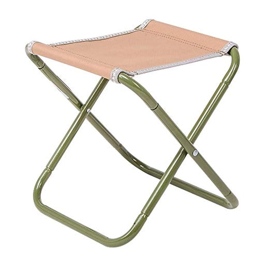 カポックチョコレートでる折りたたみ椅子ポータブルキャンプチェア通気性マザールレジャー釣りチェア快適なスケッチチェア (Color : A)