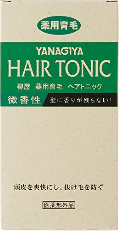 両方絶縁するカーフ柳屋 薬用育毛ヘアトニック 微香性240ml