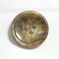 MONTE(モンテ)ボタン20mm(COLOR.1:ベージュ)イタリア製スーツジャケット用ボタン