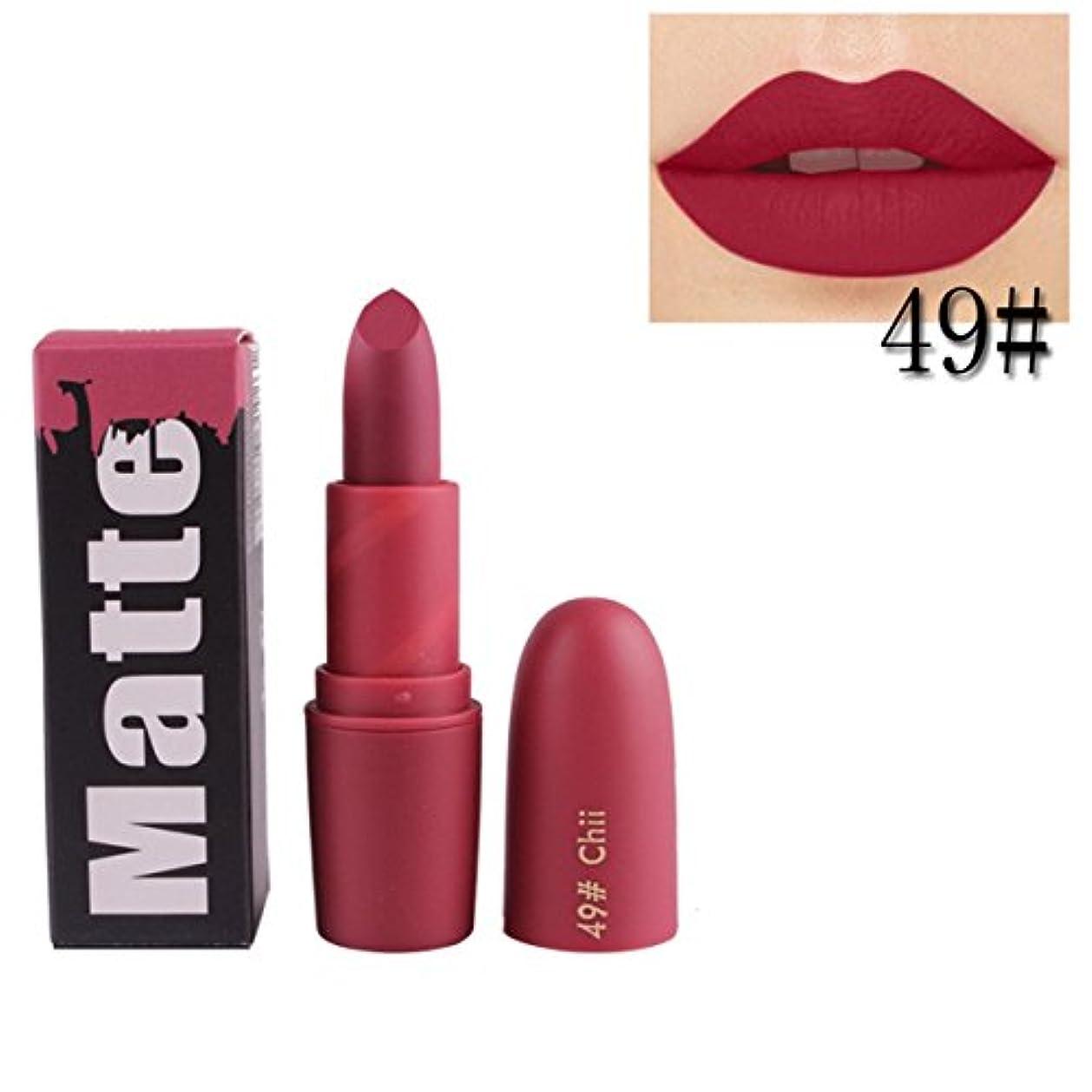 非常にに沿ってくるみ女性口紅 BOBOGOJP 欧米風 ミストマット リップグロス 18色選択 保湿 持続性 魅力的 リップリップスティック モイスチャライジング リップスティックメイク 恋する唇 おすすめリップスティック (M)