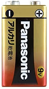 パナソニック 9V型アルカリ乾電池 1本 6LR61YXJ/1S