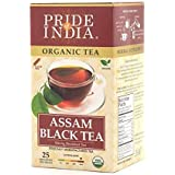 Pride Of India Organic Assam Breakfast Black Tea, 25 Tea Bags