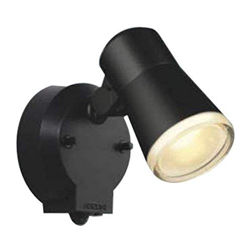 コイズミ照明 LEDアウトドアスポットタイマー付ON-OFFタイプ(白熱球60W相当)電球色 AUE640554