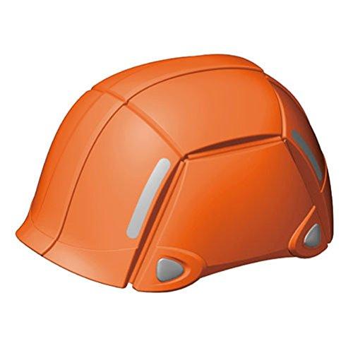 TOYO 防災用折りたたみヘルメット ブルーム オレンジ No.100