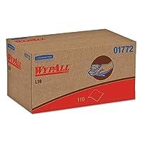 WypAll 01772 L10 SANI-PREP Dairy Towels,POP-UP Box,1Ply,10 1/2x10 1/4,110 per Pack (Case of 18 Packs) [並行輸入品]