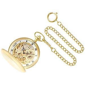 [ティモール]TIMOR 懐中時計 ポケットウォッチ ダブルハンター 手巻き TP102JA01 【正規輸入品】
