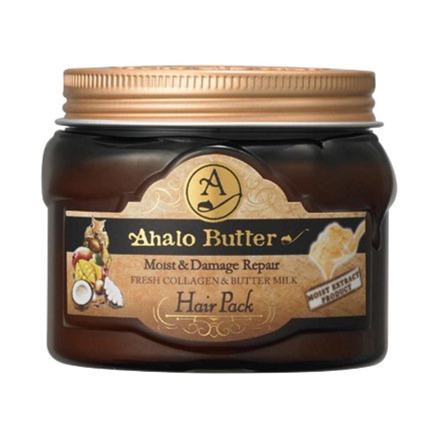 ぴったり専門用語ガレージAhalo butter(アハロバター) リッチモイスト 集中ヘアパック 150g