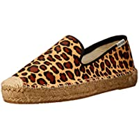 Soludos Platform Haircalf Smoking Slippers Women's Smoking Slipper