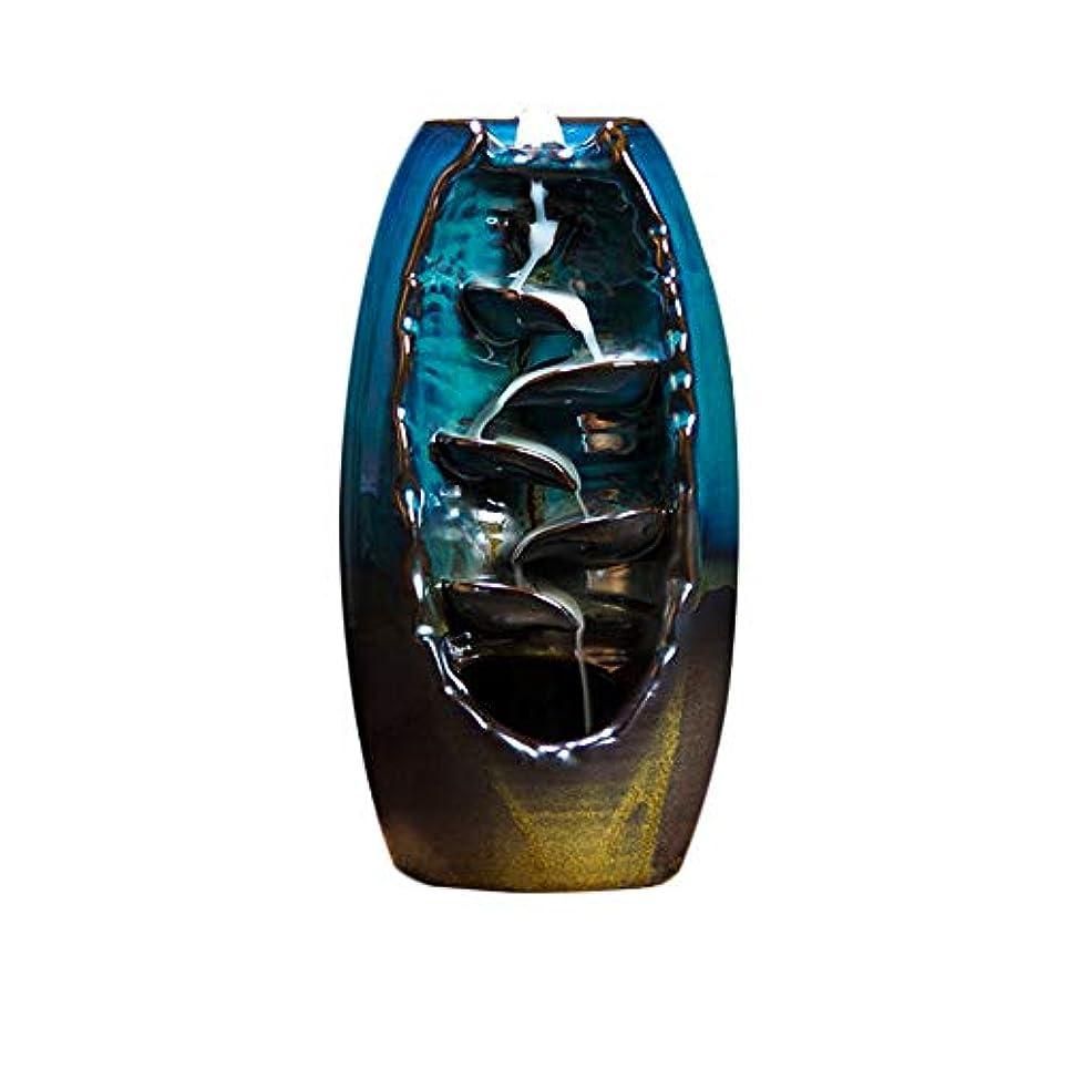 メロン化学薬品ギターセラミック逆流香炉Little Monk Incense Tower Burner +ギフト10 Cones