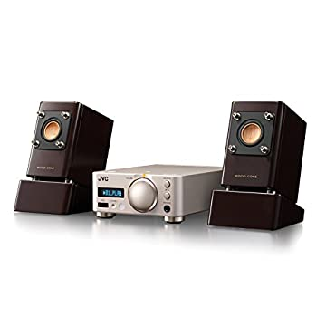 JVC コンパクトコンポ Bluetooth・NFC対応/ハイレゾ音源対応 ウッドコーンシリーズ EX-NW1