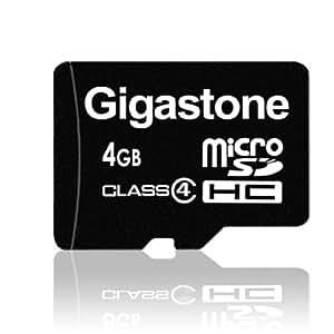 Gigastone microSDHCカード 4GB Class4 5年保証 GJM4/4G