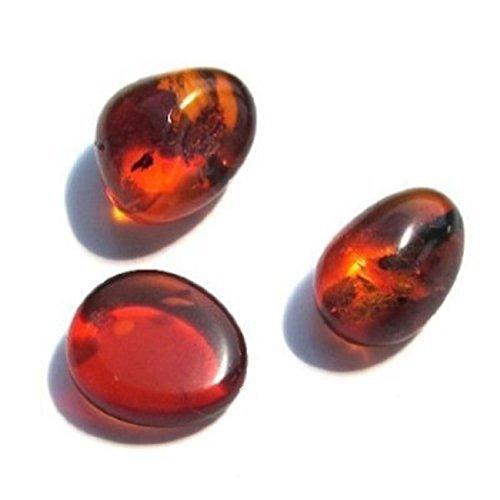 [해외]3 돌 발트 해양 앰버 보석 세트/3 Stones Baltic marine amber jewelry set