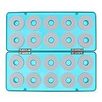 D DOLITY 釣り糸ボビン スプール タックル 仕掛け巻 収納ボックス 全3サイズ - 20