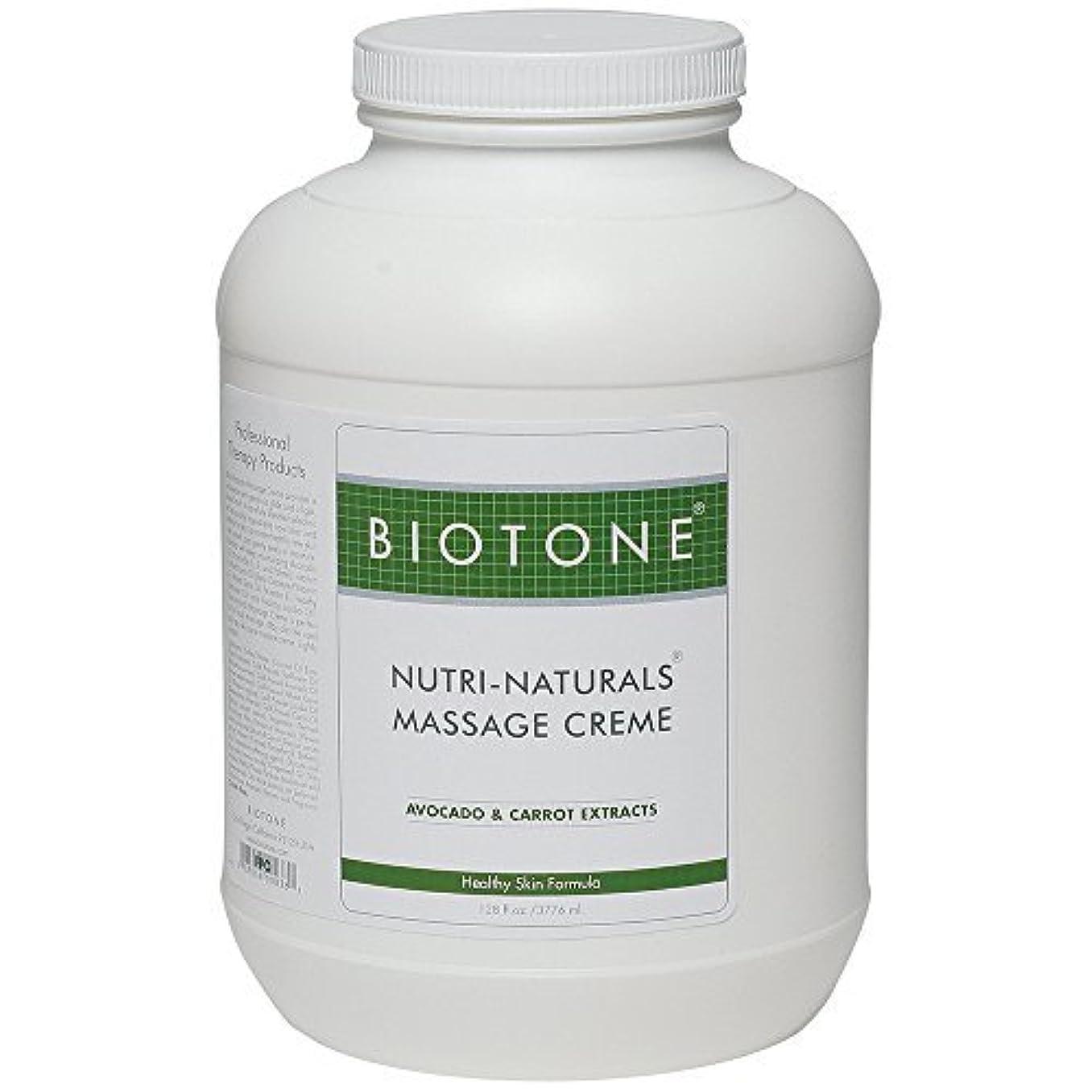 カーペット銃病んでいるBiotone Nutri Naturals Massage Cream 128 Ounce [並行輸入品]