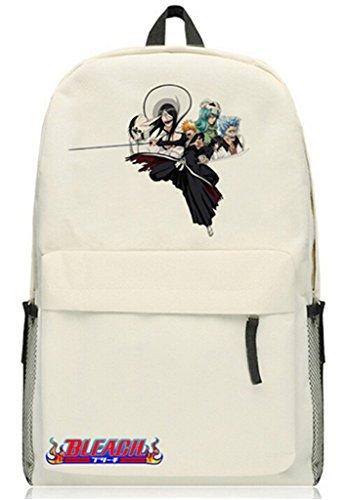 Siawasey Bleachアニメ黒崎一護コスプレブックバッグDaypack Laptopカレッジバッグバックパックスクールバッグ