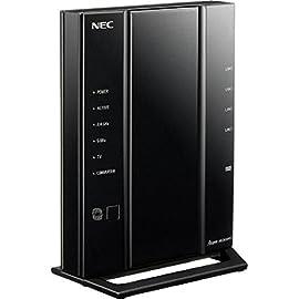 NEC 無線LANルーター Aterm ブラック PA-WG2600HP3