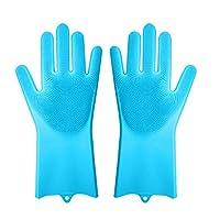 ブラシ 手袋式 車/ペット/台所/浴室用 汚れ落とす強い 清潔便利