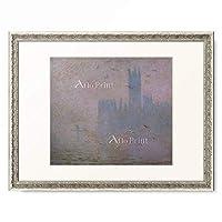 クロード・モネ Claude Monet 「Seagulls in the haze in front of the palace in London. 1904」 額装アート作品
