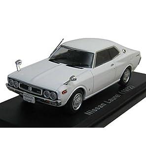 NOREV 1/43 日産 ローレル 2000SGX 2ドアハードトップ C130型 1972年 白 2代目