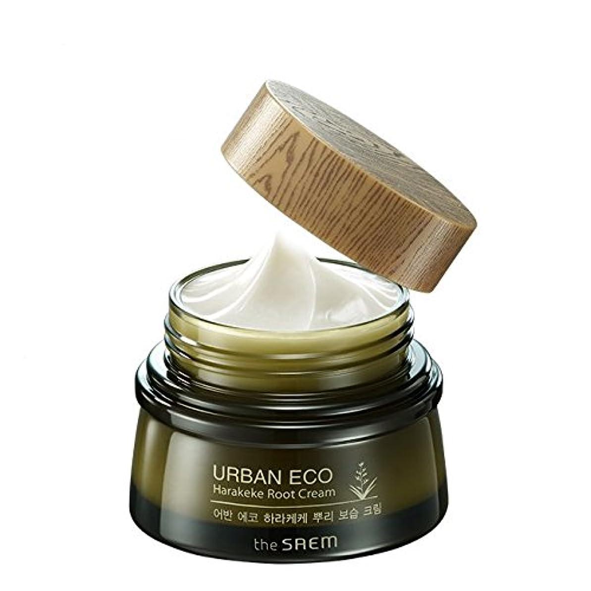 ハンサム円形の有毒な[ザセム] The Saem [アーバンエコ ハラケケ 根保湿クリーム60ml (The Saem Urban Eco Harakeke Root Cream60ml)