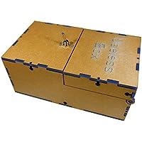 DIY Version Useless Box Turns Itself Off In Box Alone Machine (1 set)blue [並行輸入品]