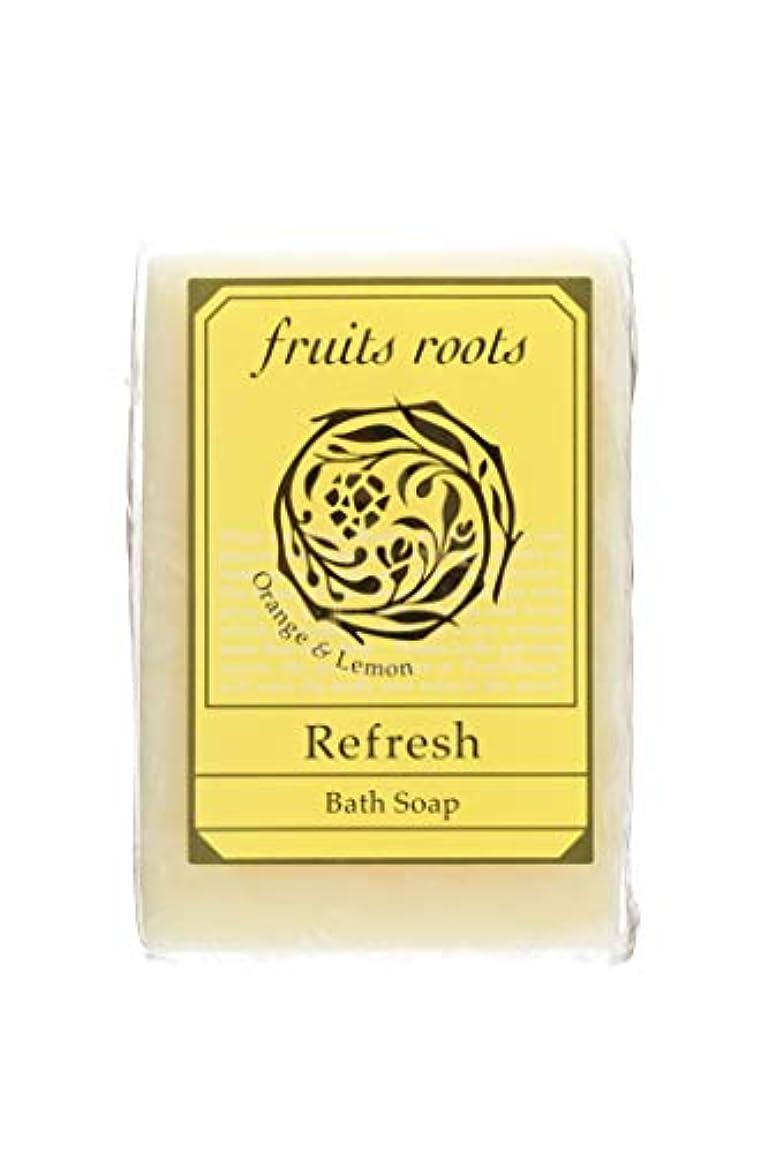 運営才能のある抽象fruits roots リフレッシュ バスソープ 1個