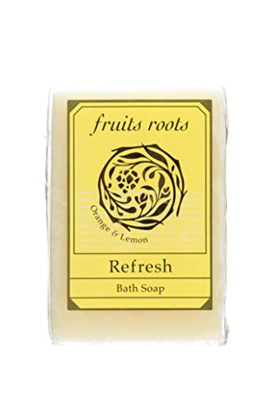 陰気重荷反対fruits roots リフレッシュ バスソープ 1個