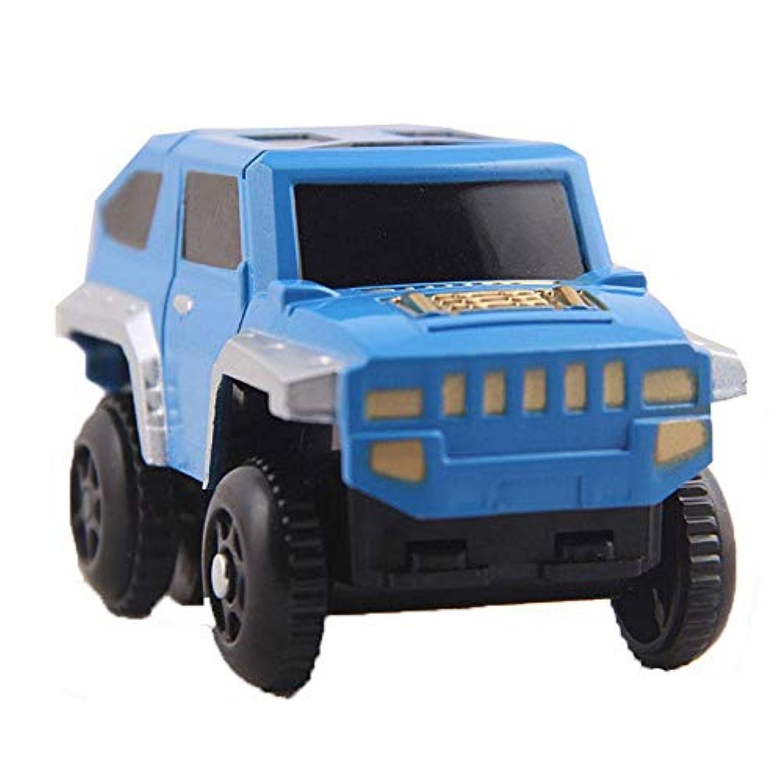 Umiwe マジックトラックカー トラック 交換用玩具 車 マジックトラックアクセサリー おもちゃ車 ミニ 子供用 ほとんどの列車トラックに対応 男の子と女の子用 (ランダムカラー)