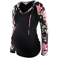 Bhome Maternity T Shirts Casual Loose Short Sleeve Tee Pregnancy Mama Tops