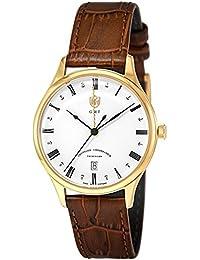 [ドゥッファ]DUFA 腕時計 WeimarGMT ホワイト文字盤 DF-9006-03 メンズ 【正規輸入品】