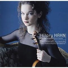 ハーン独奏 メンデルゾーン&ショスタコーヴィチ ヴァイオリン協奏曲の商品写真