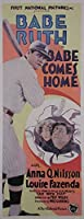 "Babe Comes Home (挿入)ポスター( 14 "" x 36 "" )"