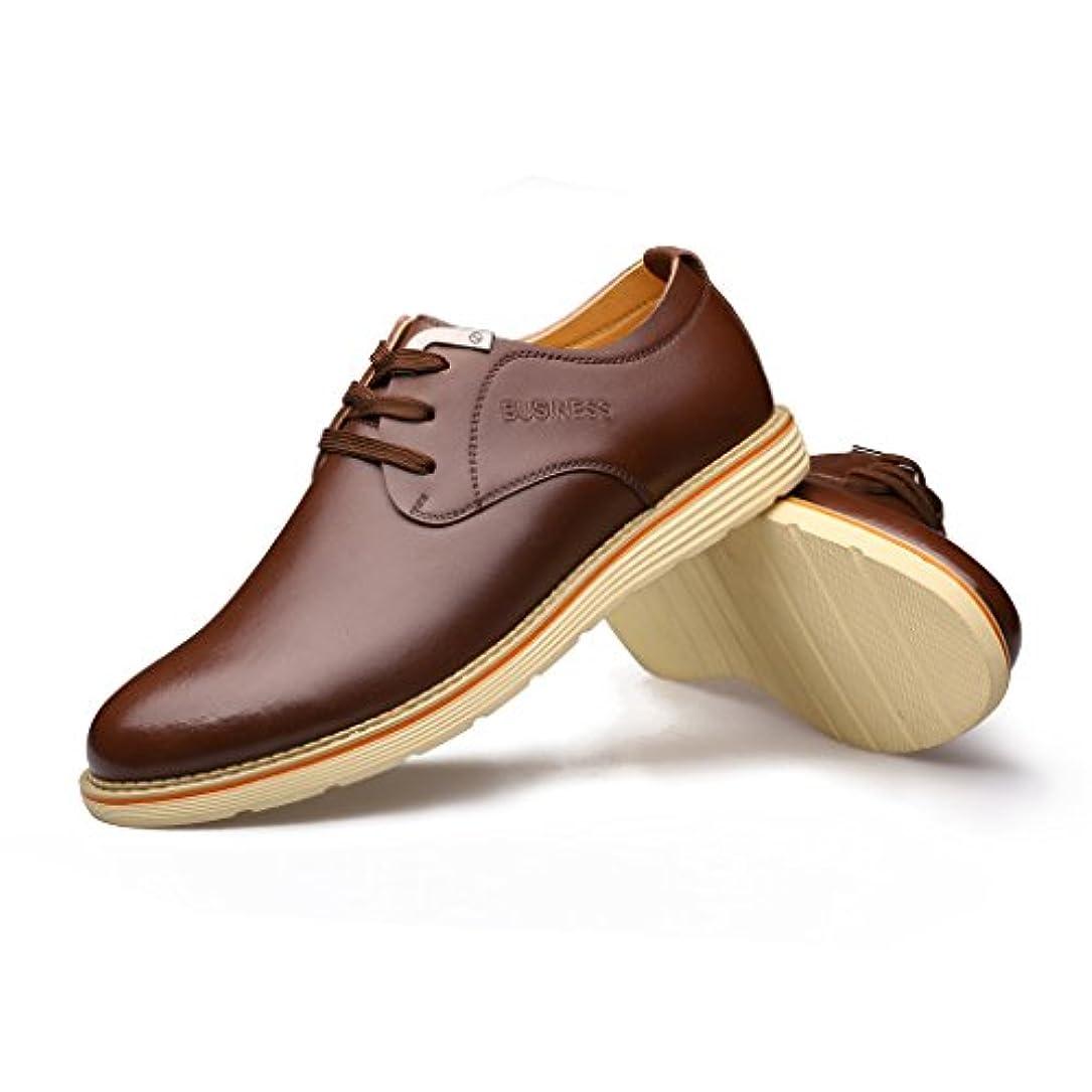 スイス人細分化するシーンVIISHOW ビジネスシューズ メンズ フォーマル ビジネス 脚長 紳士靴 メンズ靴 メンズシューズ 合成皮革 軽量 ロングノーズ ドレスシューズ