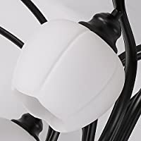 YZUEYT 現代的なミニマリストリビングルームのランプ大気LEDの天井ランプ暖かいベッドルームアメリカの創造的な本の部屋のレストランの照明 YZUEYT (Size : 46cm*68cm)