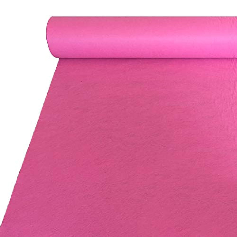 ピンクの結婚式の敷物、T台湾の祝賀ロマンチックな結婚式のため CONGMING (色 : Pink, サイズ さいず : 1 * 20m)