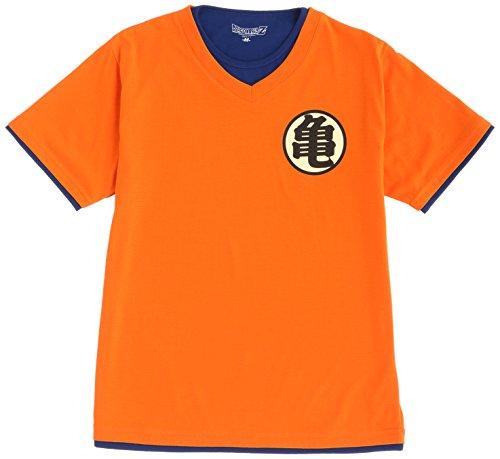(ドラゴンボールゼット)DRAGON BALL Z ドラゴンボールZなりきりTシャツ 孫悟空 12893254-ORG 23.ORG オレンジ LL