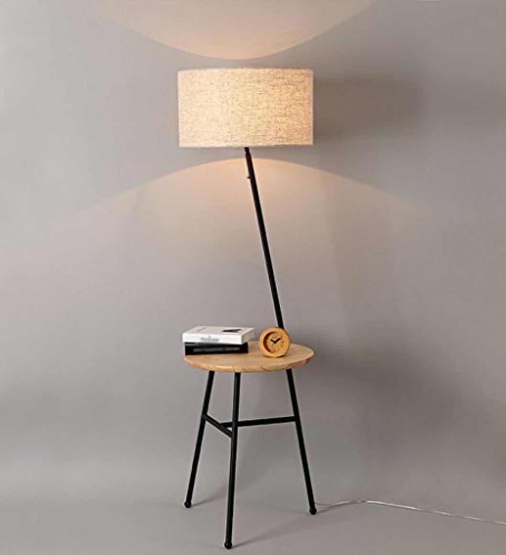 犯罪の頭の上横GRJH® フロアランプ、リビングルームシンプルでモダンなソファーコーヒーテーブルベッドルームアメリカンスタイルの北欧フロアランプ45 x 156 cm 淡色にすることができる,エレガントでシンプルな (色 : ブラック)