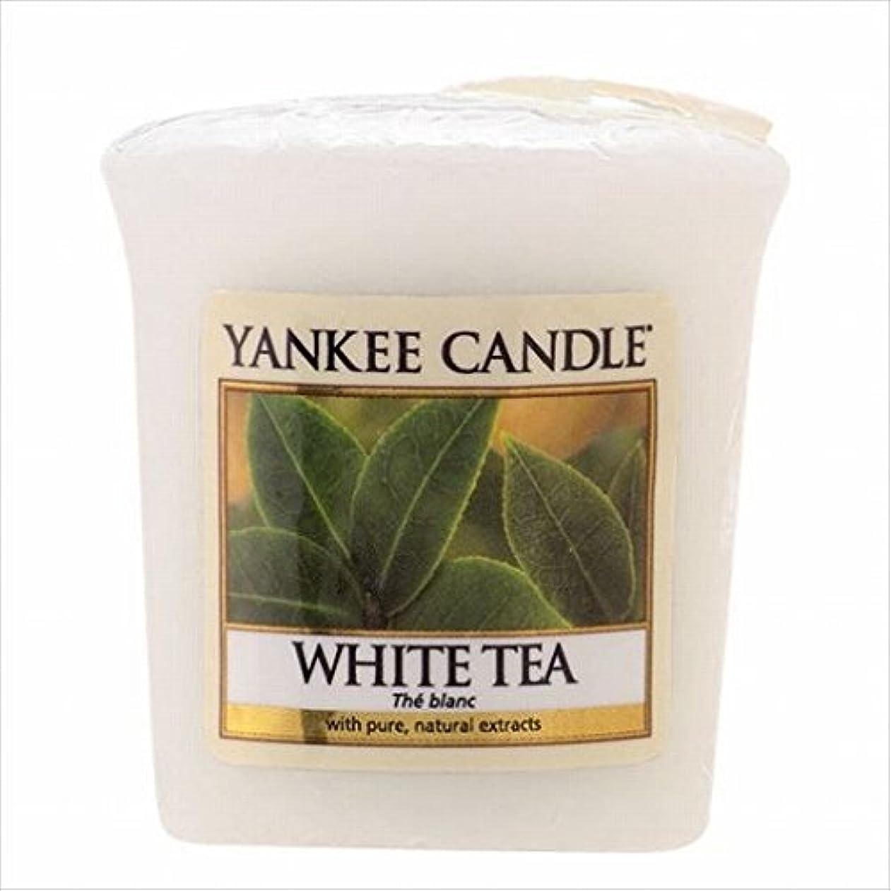 廃止するマイクスイングヤンキーキャンドル(YANKEE CANDLE) YANKEE CANDLE サンプラー 「 ホワイトティー 」6個セット