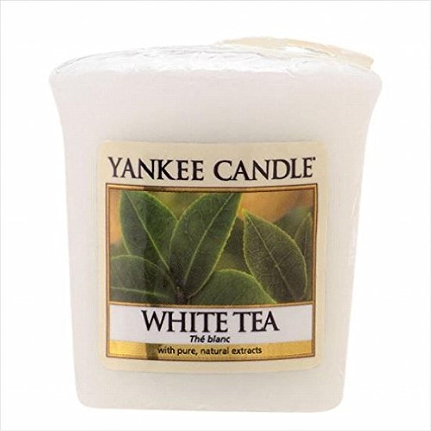 アルバム世紀蒸YANKEE CANDLE(ヤンキーキャンドル) YANKEE CANDLE サンプラー 「 ホワイトティー 」6個セット(K00105277)